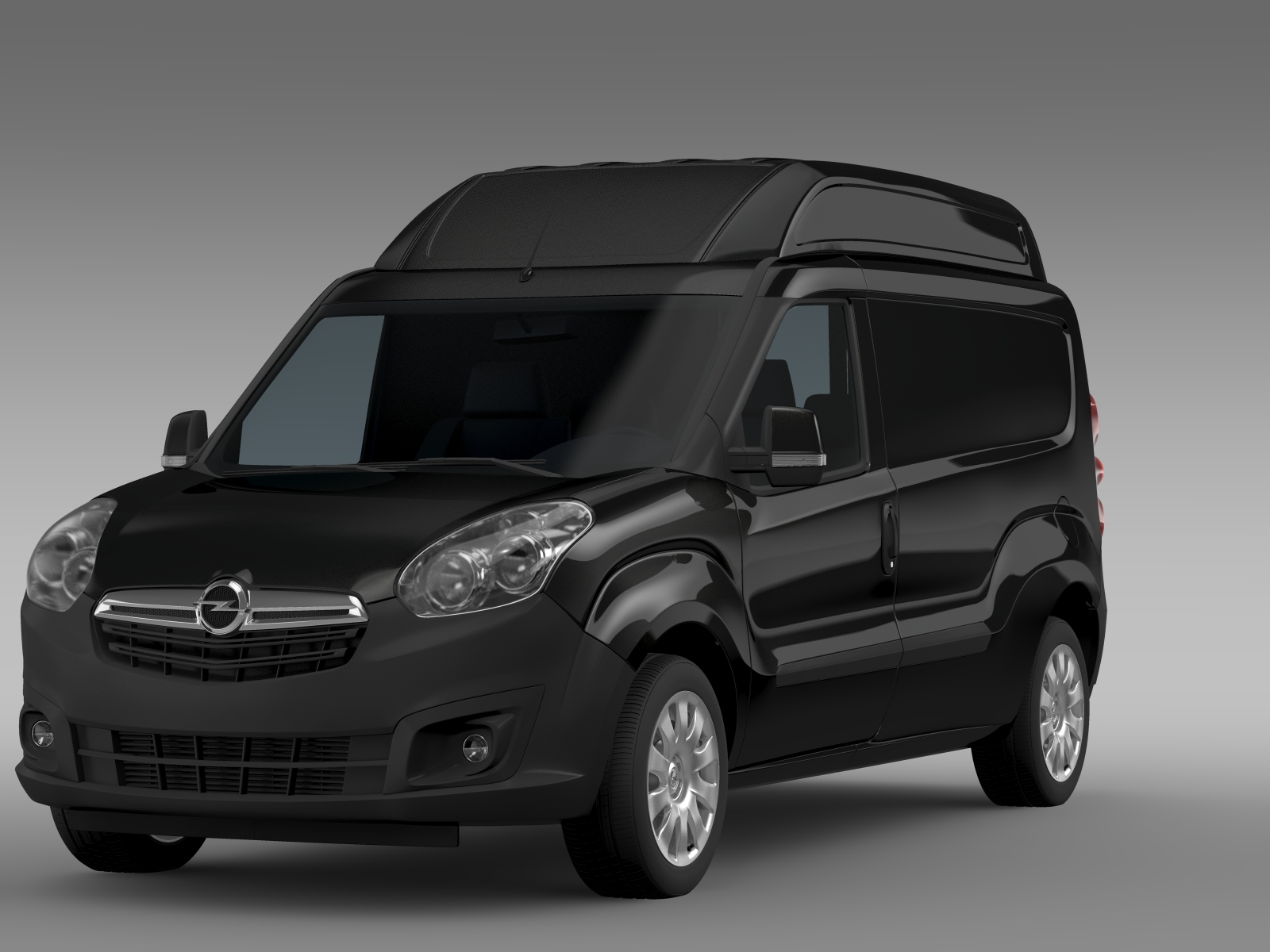 opel combo lwb high roof cargo d 2015 3d model buy opel combo lwb high roof cargo d 2015. Black Bedroom Furniture Sets. Home Design Ideas