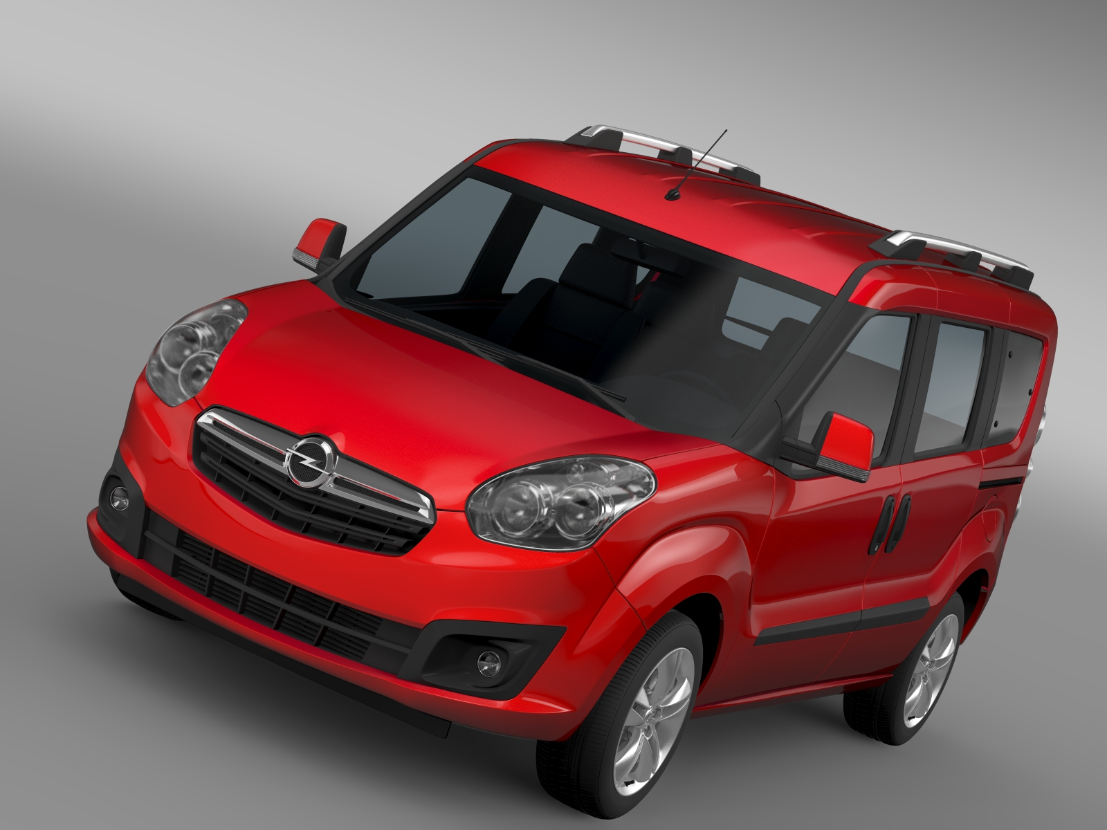 opel combo tour (d) 2015 3d model 3ds max fbx c4d