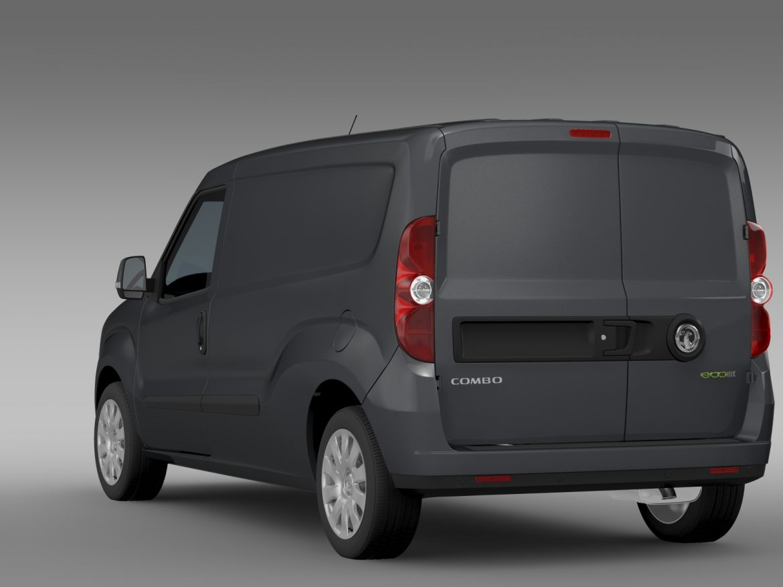 vauxhall combo h1l2 cargo 2015 3d model 3ds max fbx lwo ma mb hrc xsi obj 214500