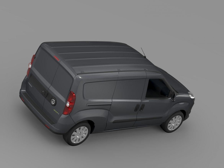 vauxhall combo h1l2 cargo 2015 3d model 3ds max fbx lwo ma mb hrc xsi obj 214502