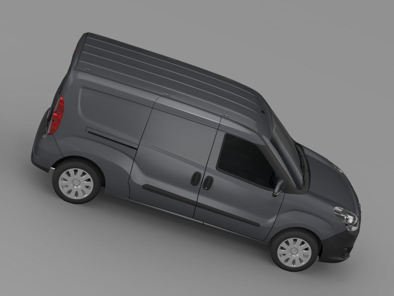 vauxhall combo h1l2 cargo 2015 3d model 3ds max fbx lwo ma mb hrc xsi obj 214503