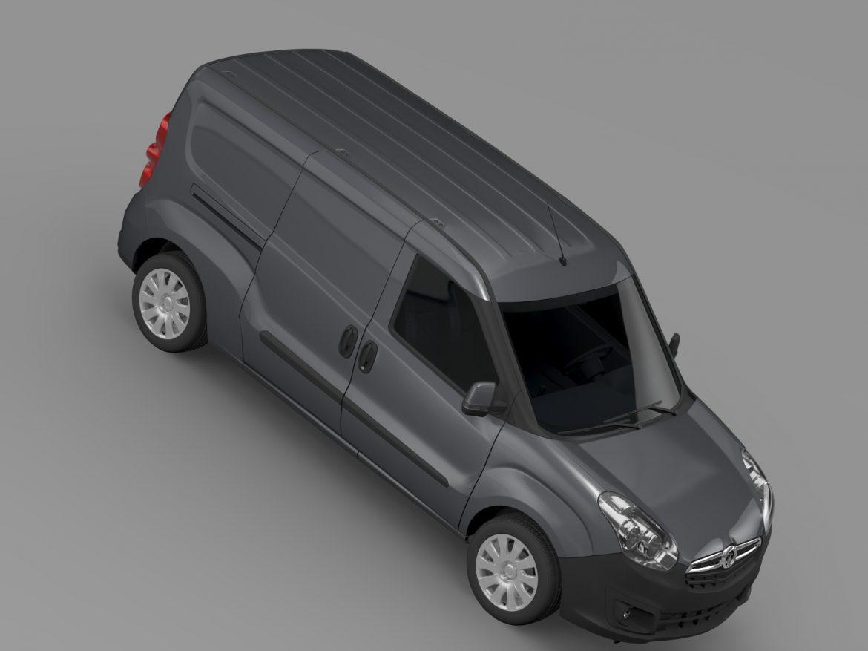 vauxhall combo h1l2 cargo 2015 3d model 3ds max fbx lwo ma mb hrc xsi obj 214504