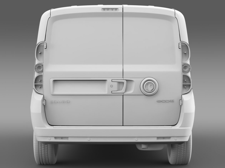 vauxhall combo h1l2 cargo 2015 3d model 3ds max fbx lwo ma mb hrc xsi obj 214506