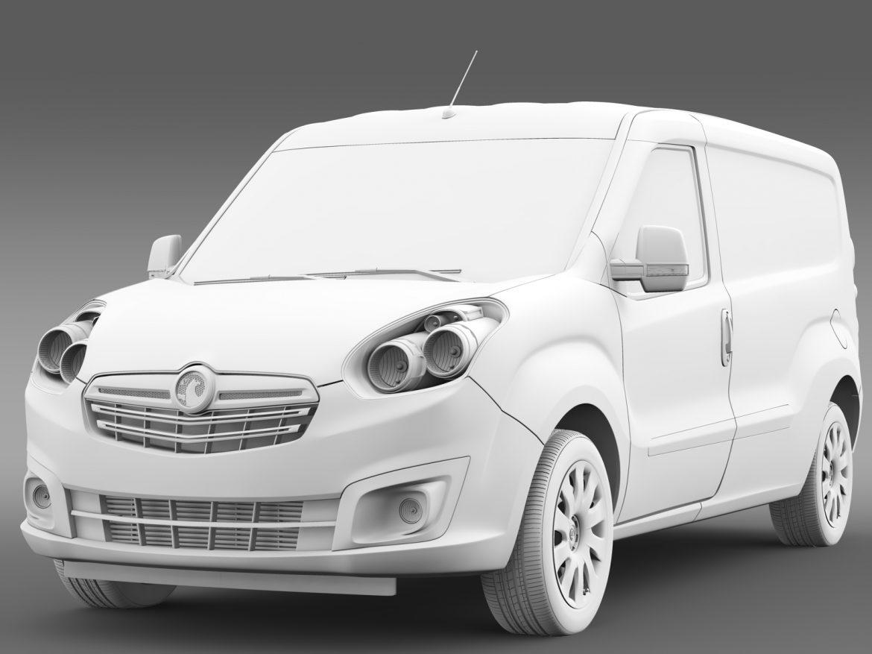 vauxhall combo h1l2 cargo 2015 3d model 3ds max fbx lwo ma mb hrc xsi obj 214507