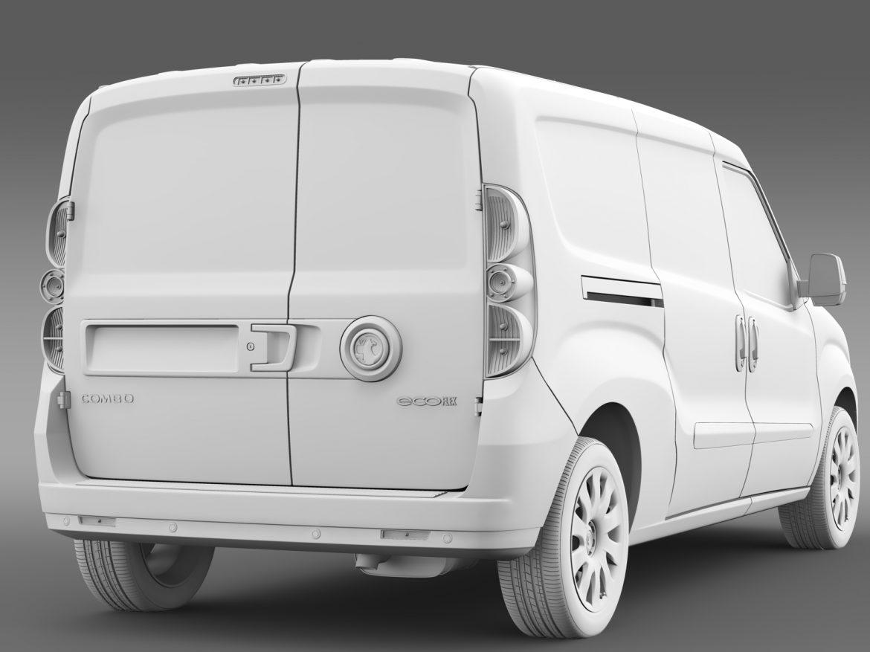 vauxhall combo h1l2 cargo 2015 3d model 3ds max fbx lwo ma mb hrc xsi obj 214508
