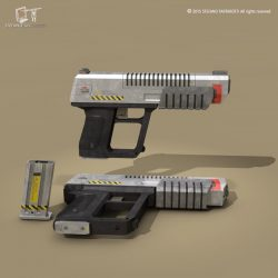 sci fi gun ( 59.03KB jpg by tartino )