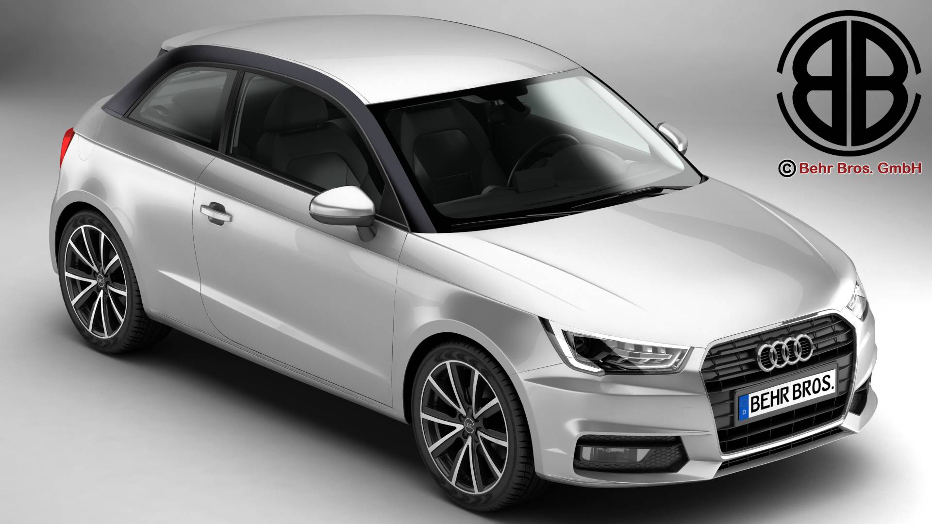 Audi a1 2015 3d model 3ds max fbx c4d le do thoil 214695
