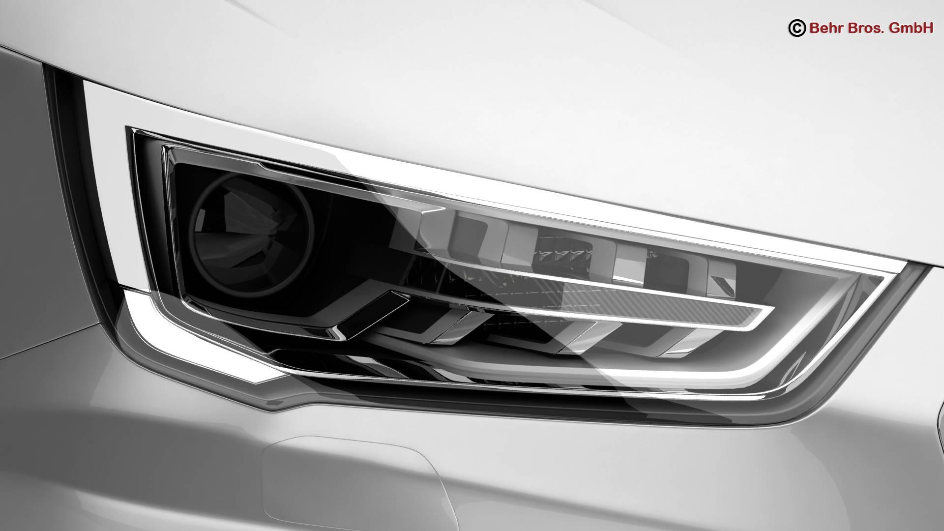 Audi a1 2015 3d model 3ds max fbx c4d am fwy o wybodaeth 214704