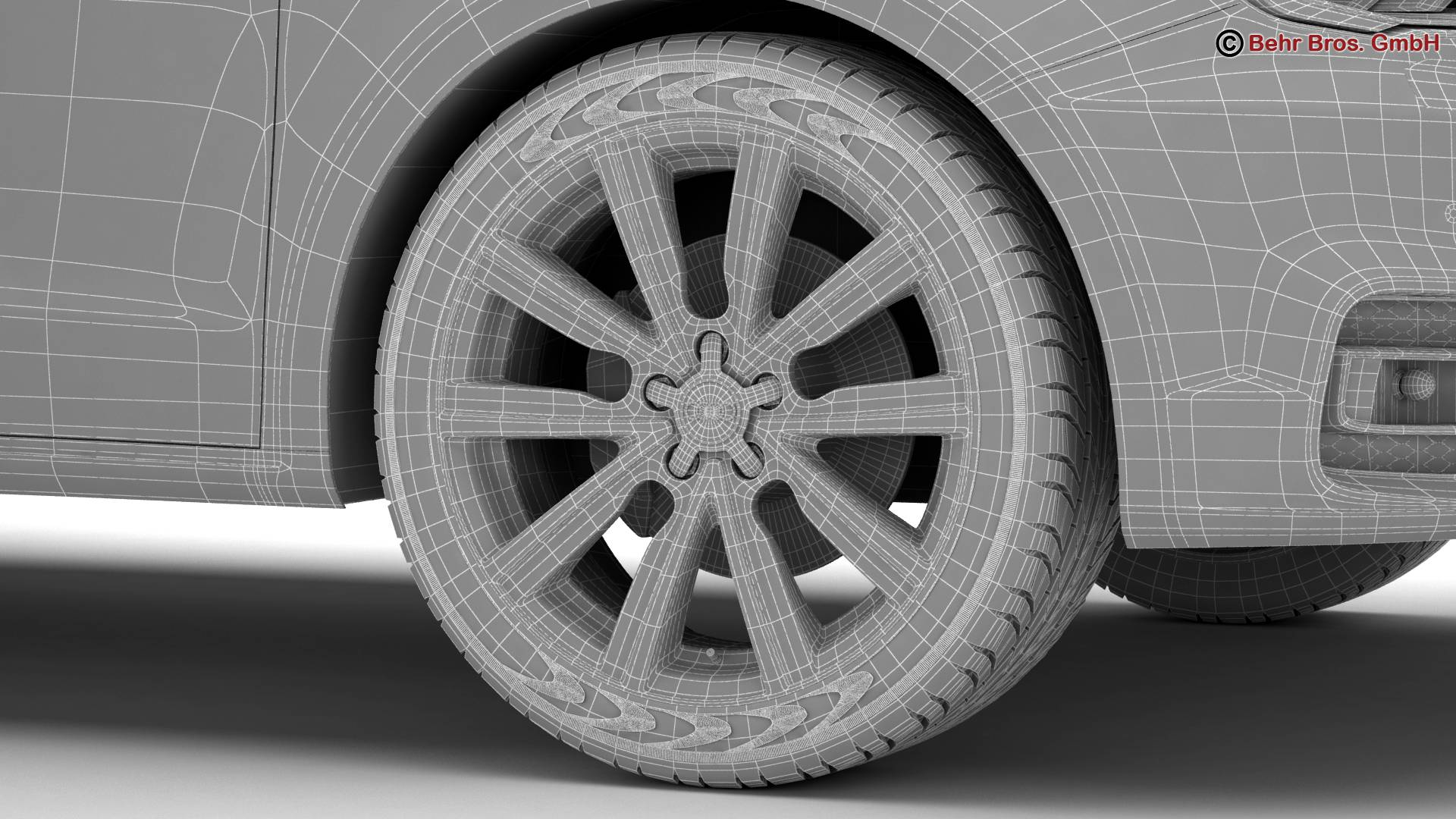 Audi a1 2015 3d model 3ds max fbx c4d am fwy o wybodaeth 214717
