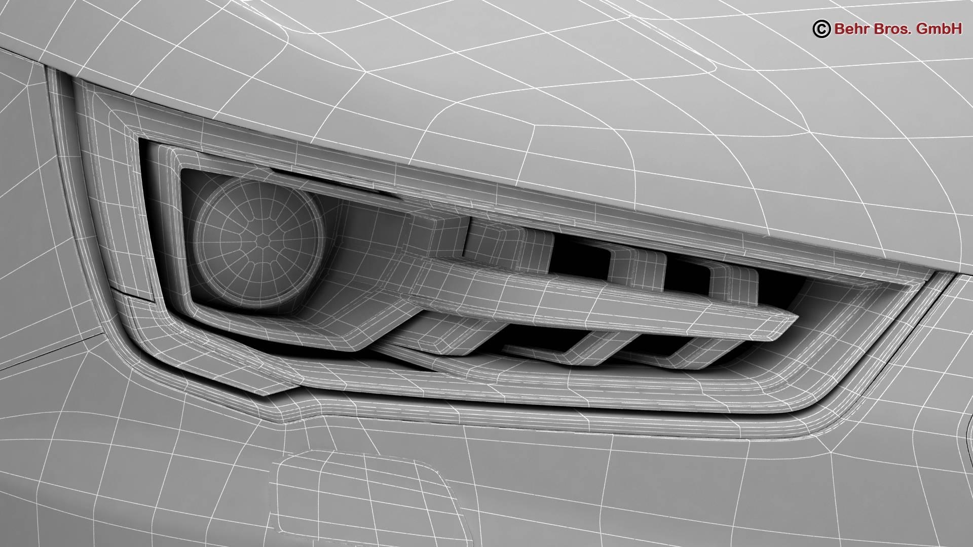Audi a1 2015 3d model 3ds max fbx c4d am fwy o wybodaeth 214718
