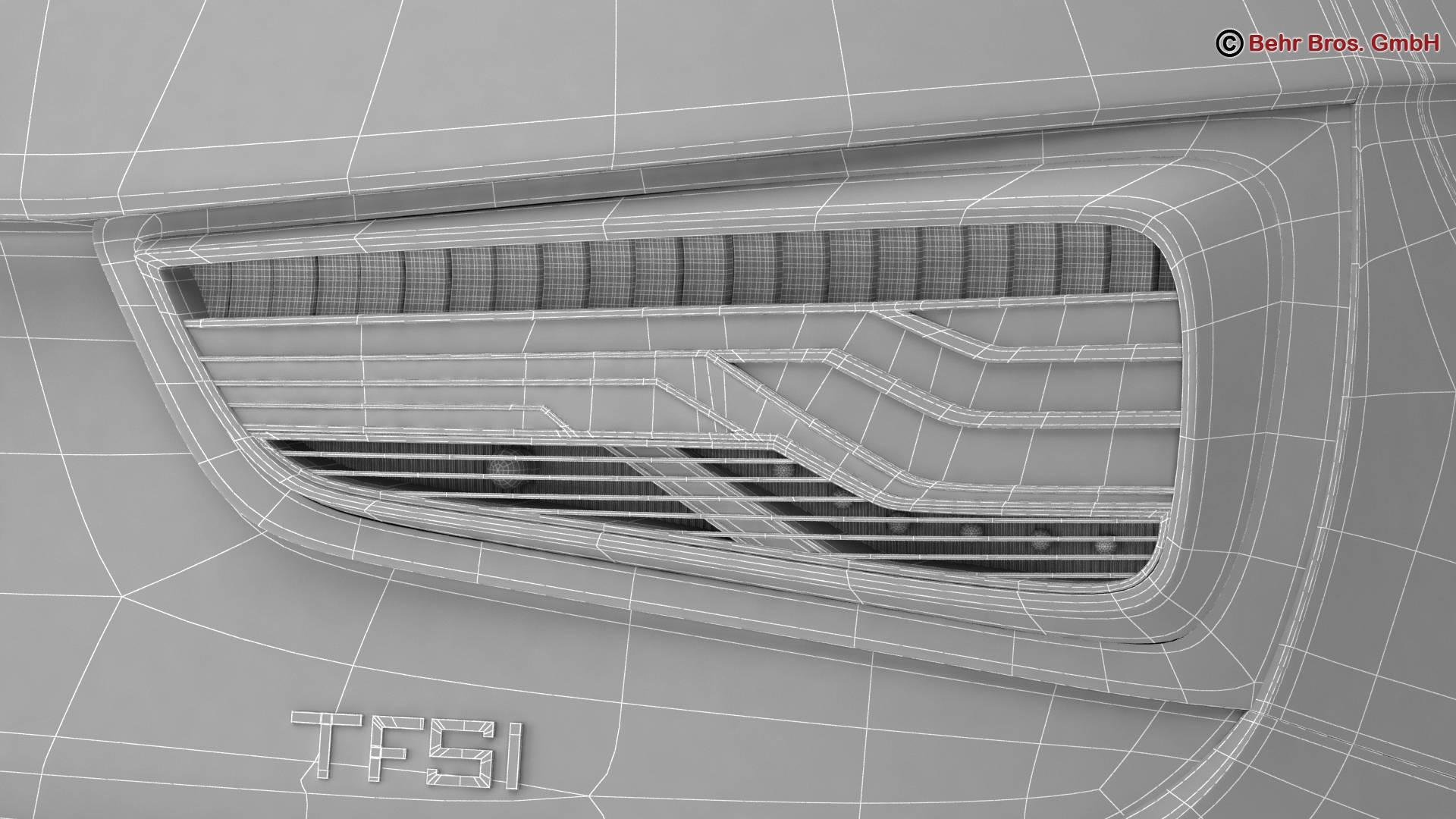 Audi a1 2015 3d model 3ds max fbx c4d am fwy o wybodaeth 214719