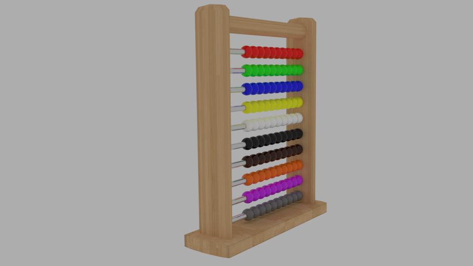 abacus v1 3d model blend 214723