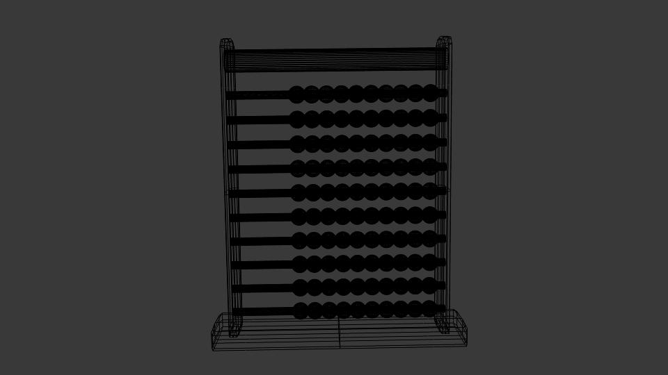 abacus v1 3d model blend 214726