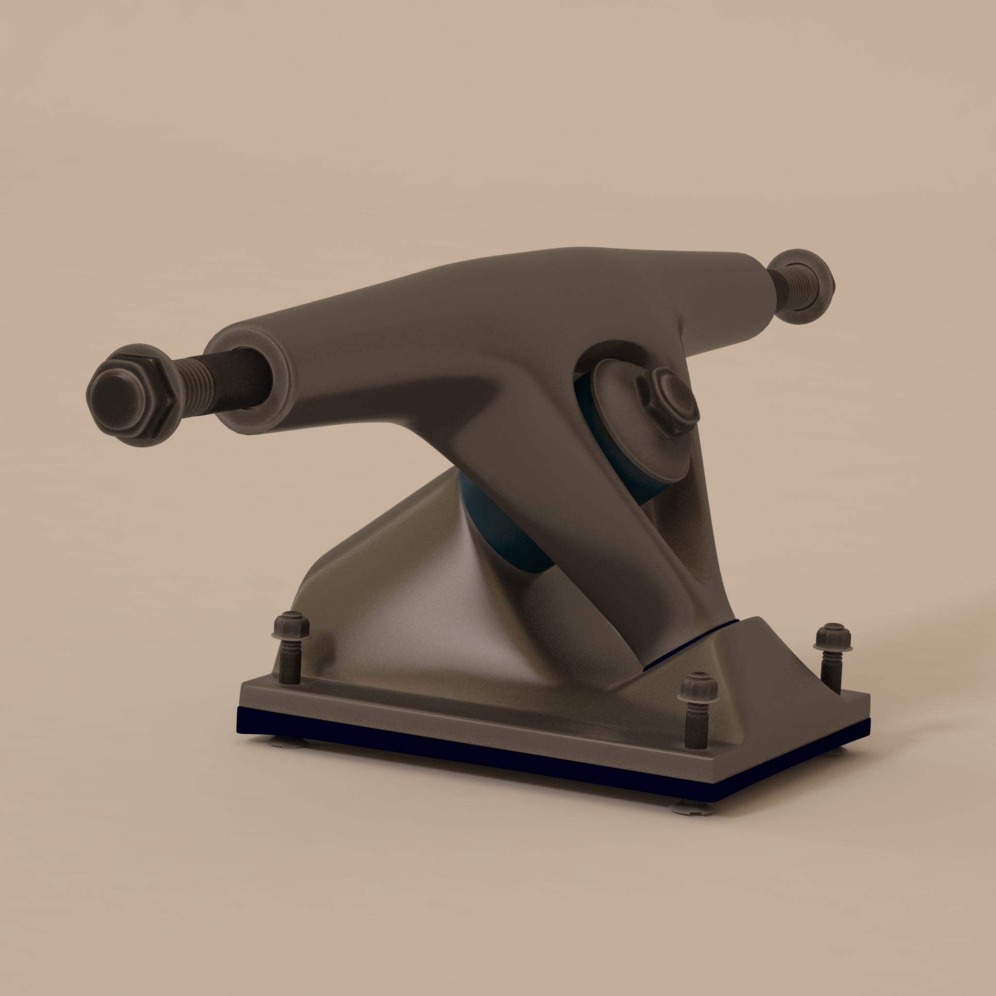 longboard suspension 3d model max 214770