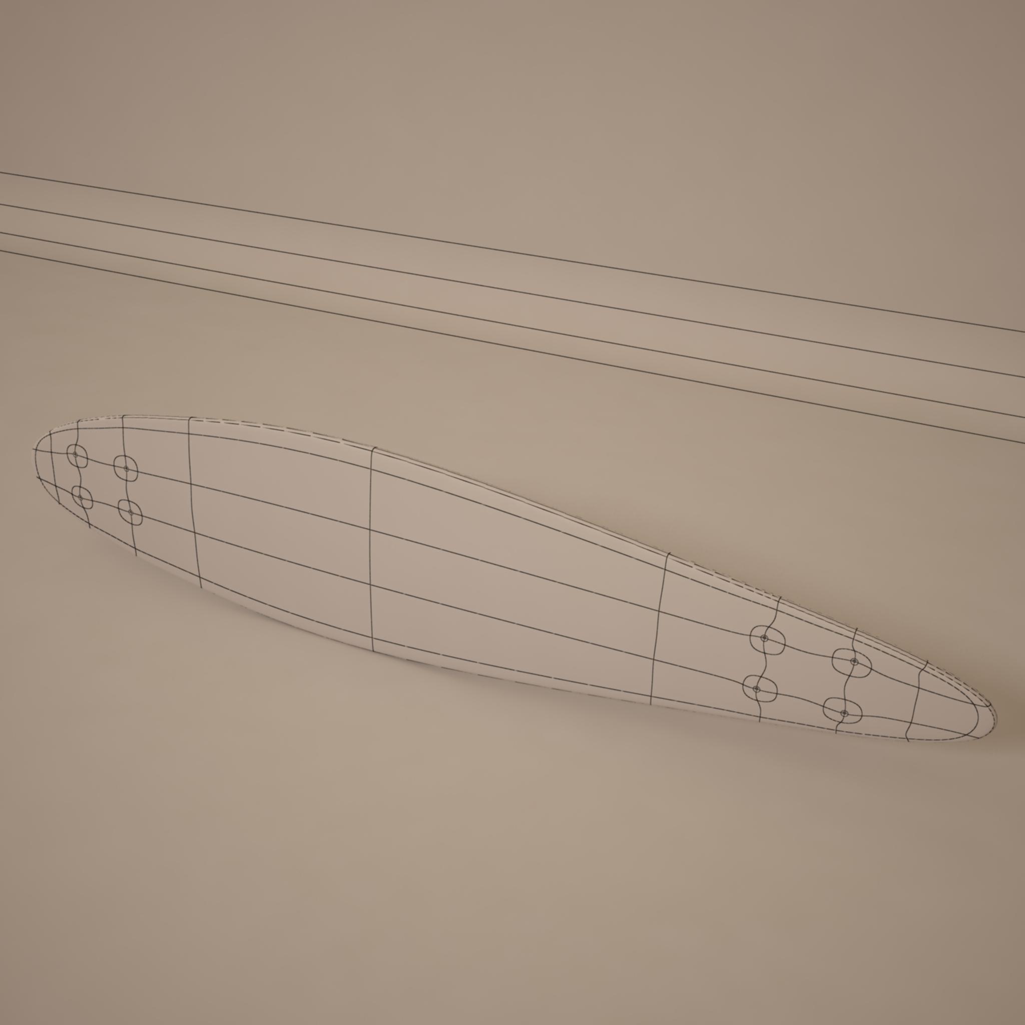 longboard güvertə 3d model max 214797