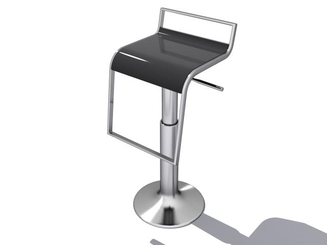 chair bar 3d model max fbx 214876