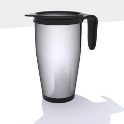 Thermos Coffee 3d model 0
