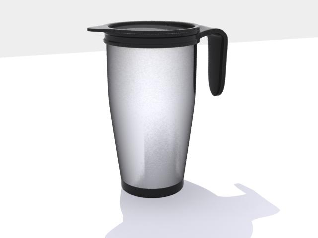 Thermos Coffee 3d model max fbx 214879