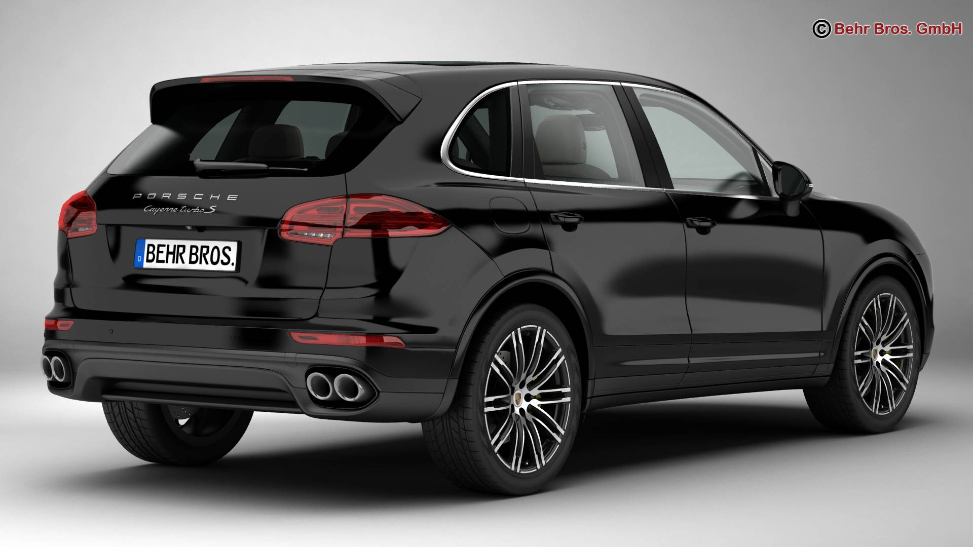 porsche cayenne turbo s 2016 3d model buy porsche cayenne turbo s 2016 3d model flatpyramid. Black Bedroom Furniture Sets. Home Design Ideas