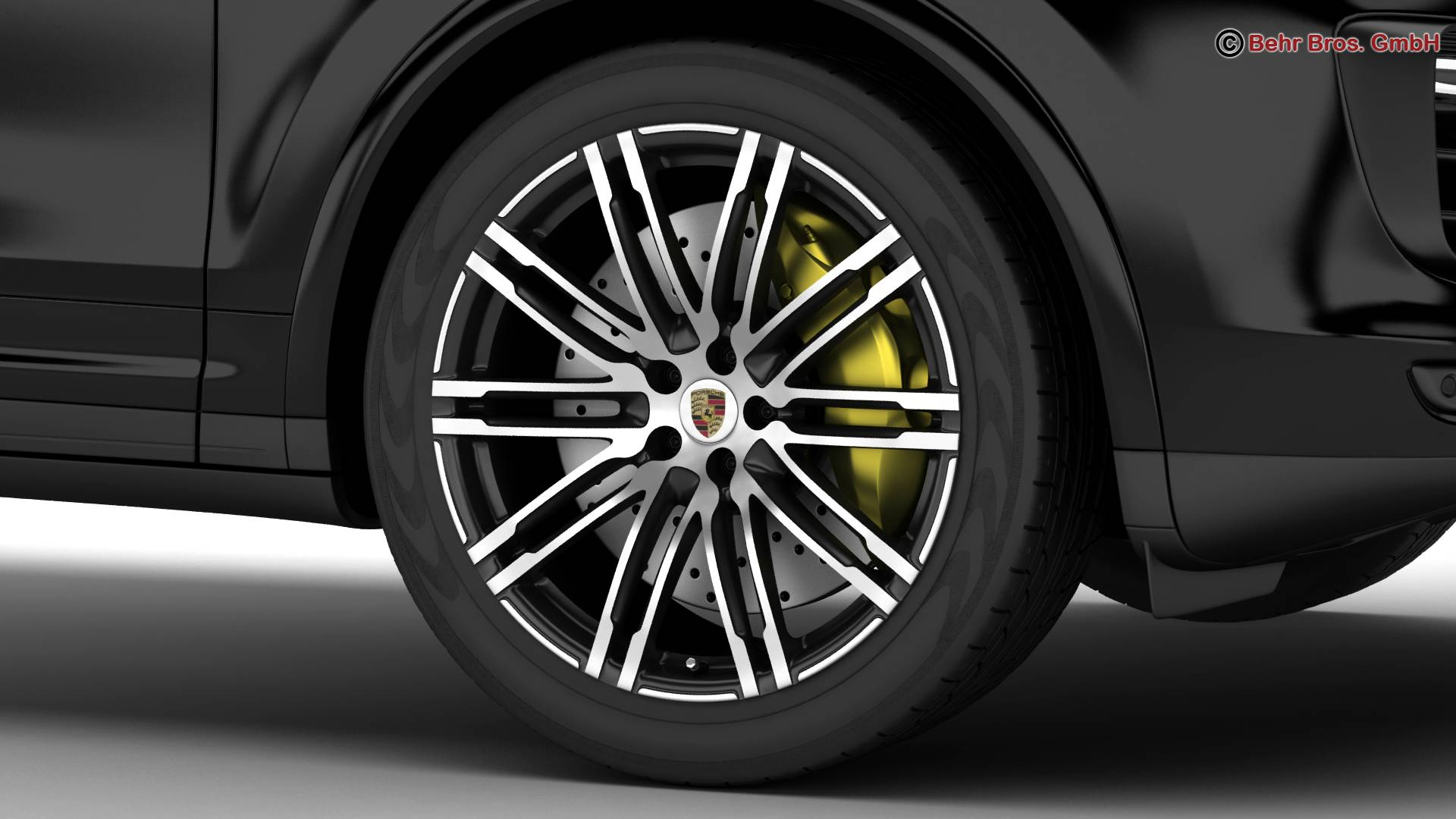 porsche cayenne turbo s 2016 3d model 3ds max fbx c4d lwo ma mb obj 214934