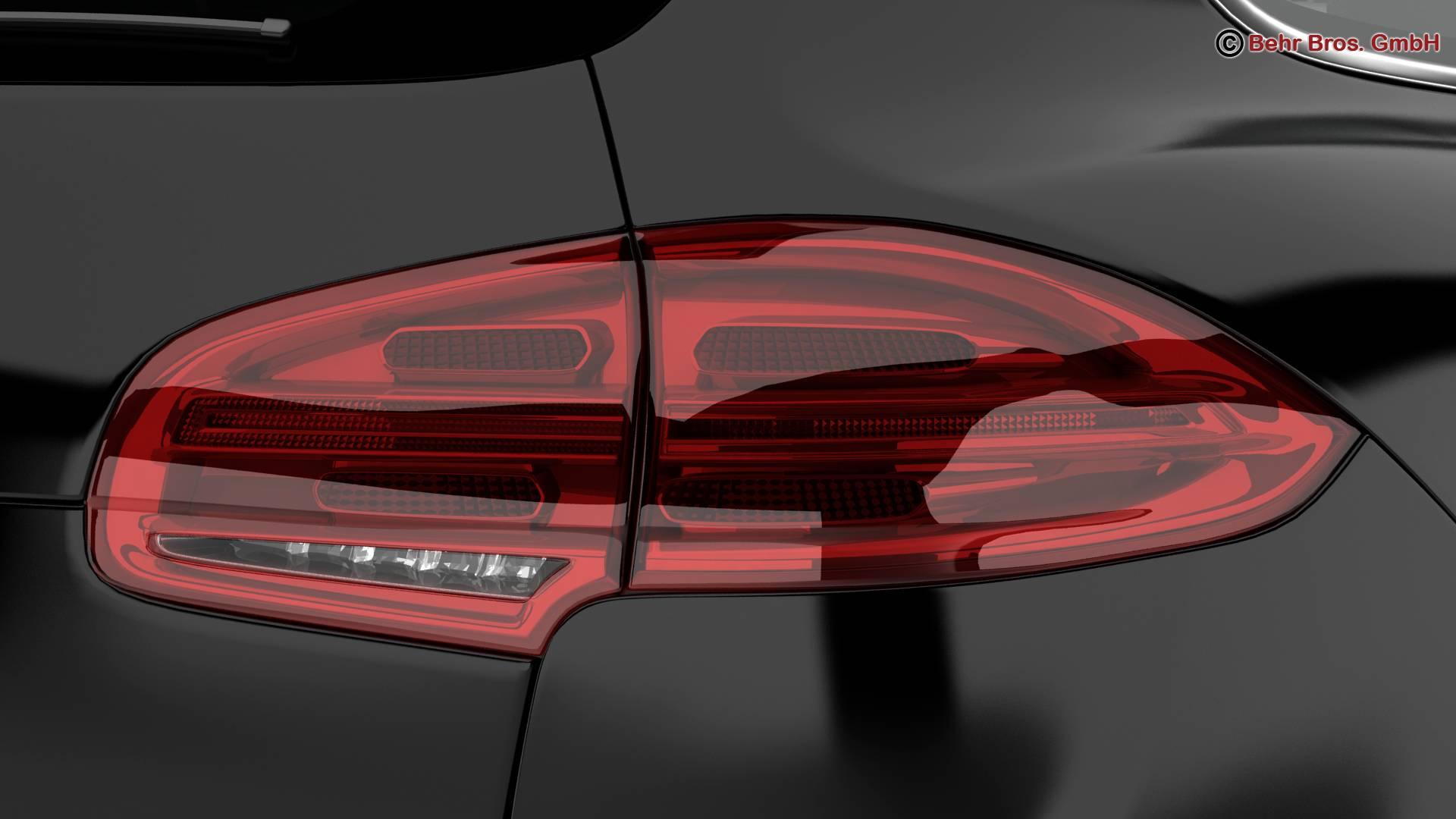 porsche cayenne turbo s 2016 3d model 3ds max fbx c4d lwo ma mb obj 214936