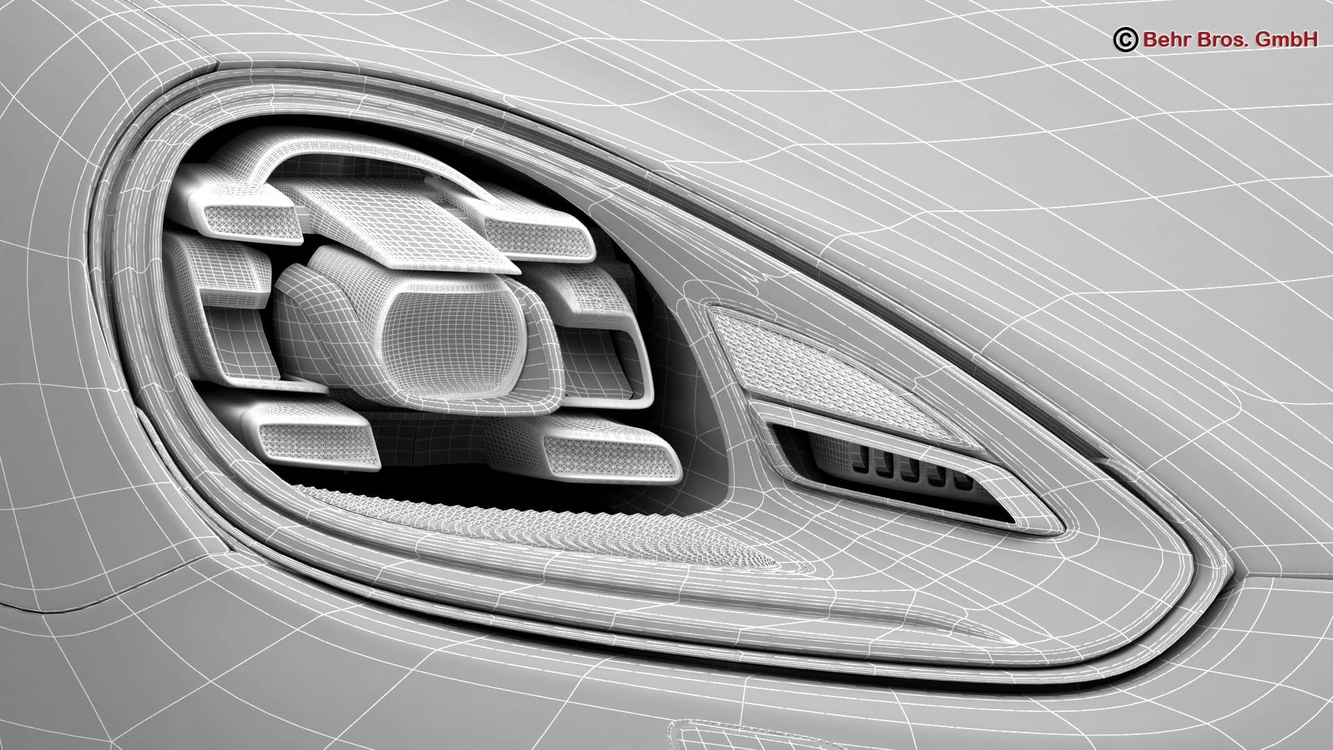 porsche cayenne turbo s 2016 3d model 3ds max fbx c4d lwo ma mb obj 214950