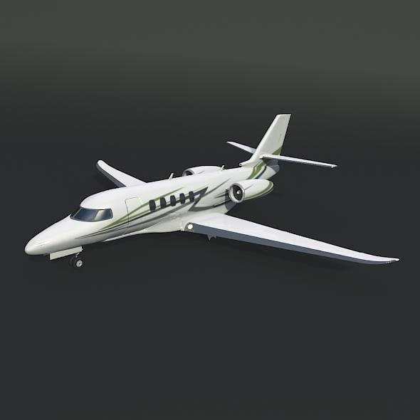 Cessna Citation Latitude business jet 3d model 3ds fbx blend dae lwo lws lw obj 214961