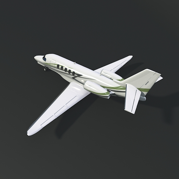 cessna citation latitude business jet 3d model 3ds fbx blend dae lwo obj 214963