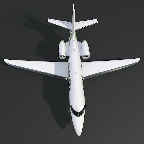 cessna citation latitude business jet 3d model 3ds fbx blend dae lwo obj 214967