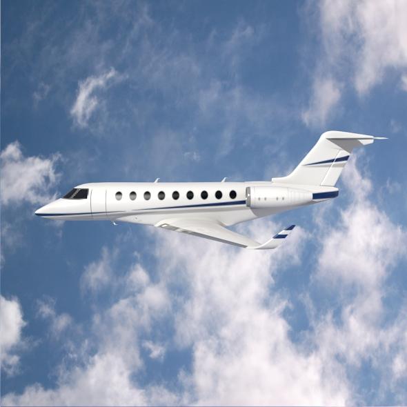 gulfstream g280 business jet 3d model 3ds fbx blend dae lwo obj 214973