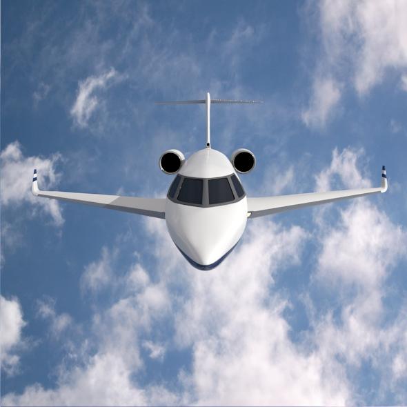 gulfstream g280 business jet 3d model 3ds fbx blend dae lwo obj 214976