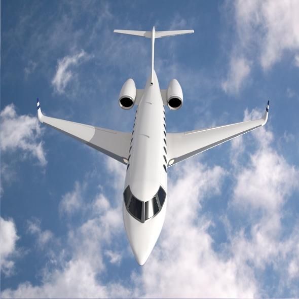 Gulfstream G280 business jet ( 212.83KB jpg by futurex3d )