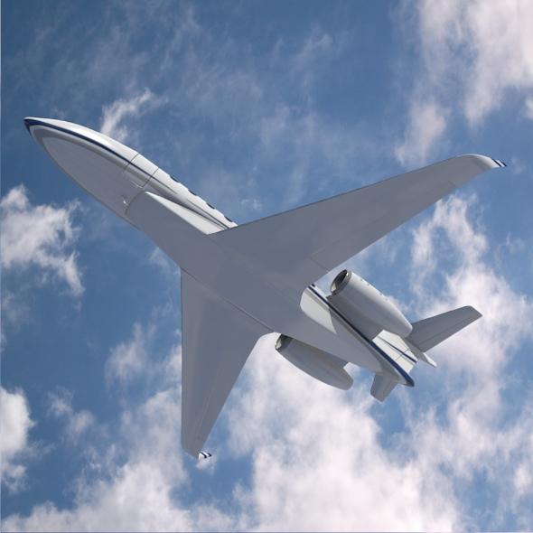 gulfstream g280 business jet 3d model 3ds fbx blend dae lwo obj 214978