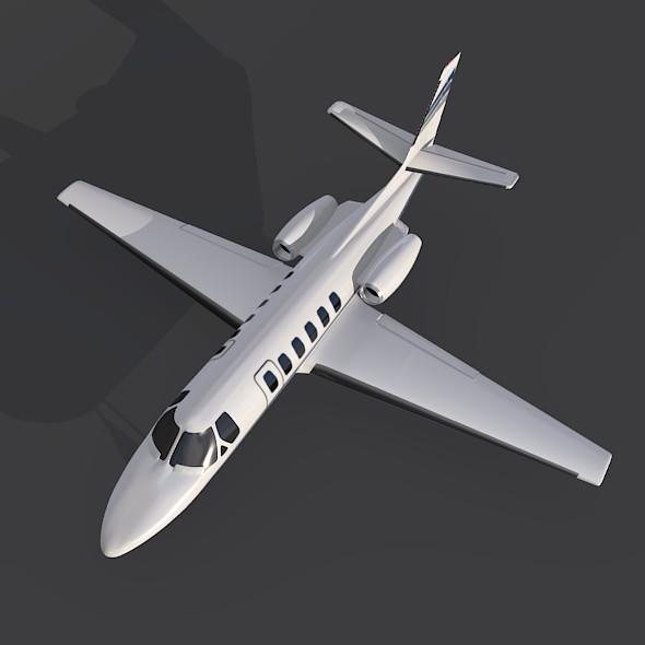 550 işə salma ii biznes jet 3d modeli 3ds fbx qarışığı 214999