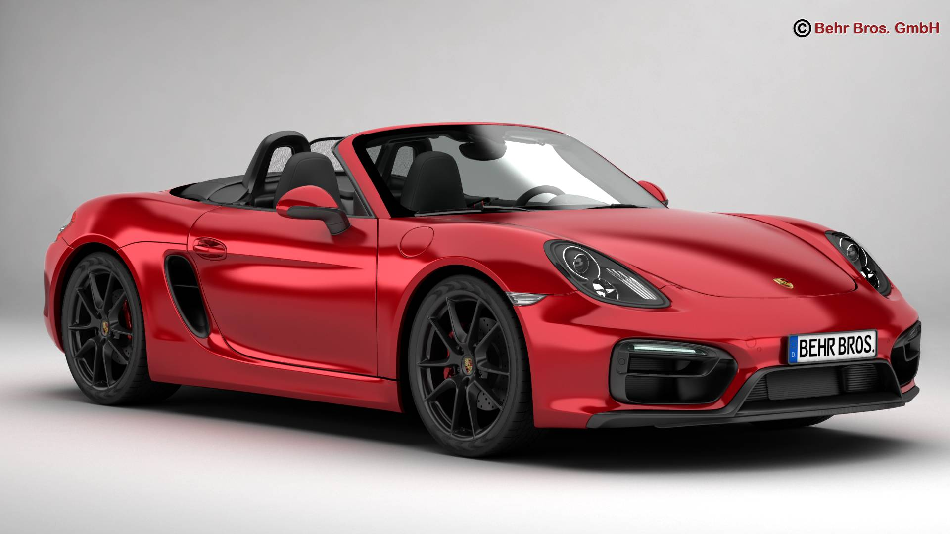 porsche boxster gts 2015 3d model buy porsche boxster gts 2015 3d model flatpyramid. Black Bedroom Furniture Sets. Home Design Ideas