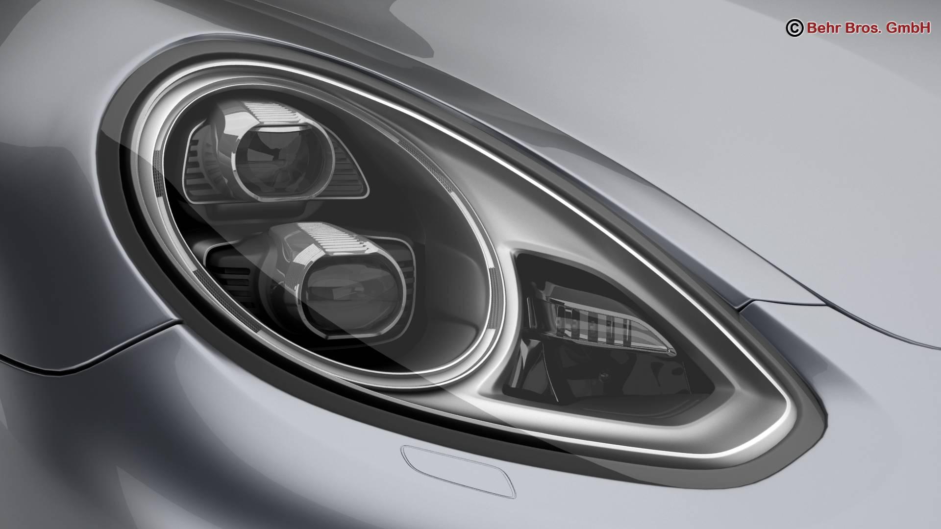 porsche panamera turbo s 2014 3d model 3ds max fbx c4d lwo ma mb obj 215069