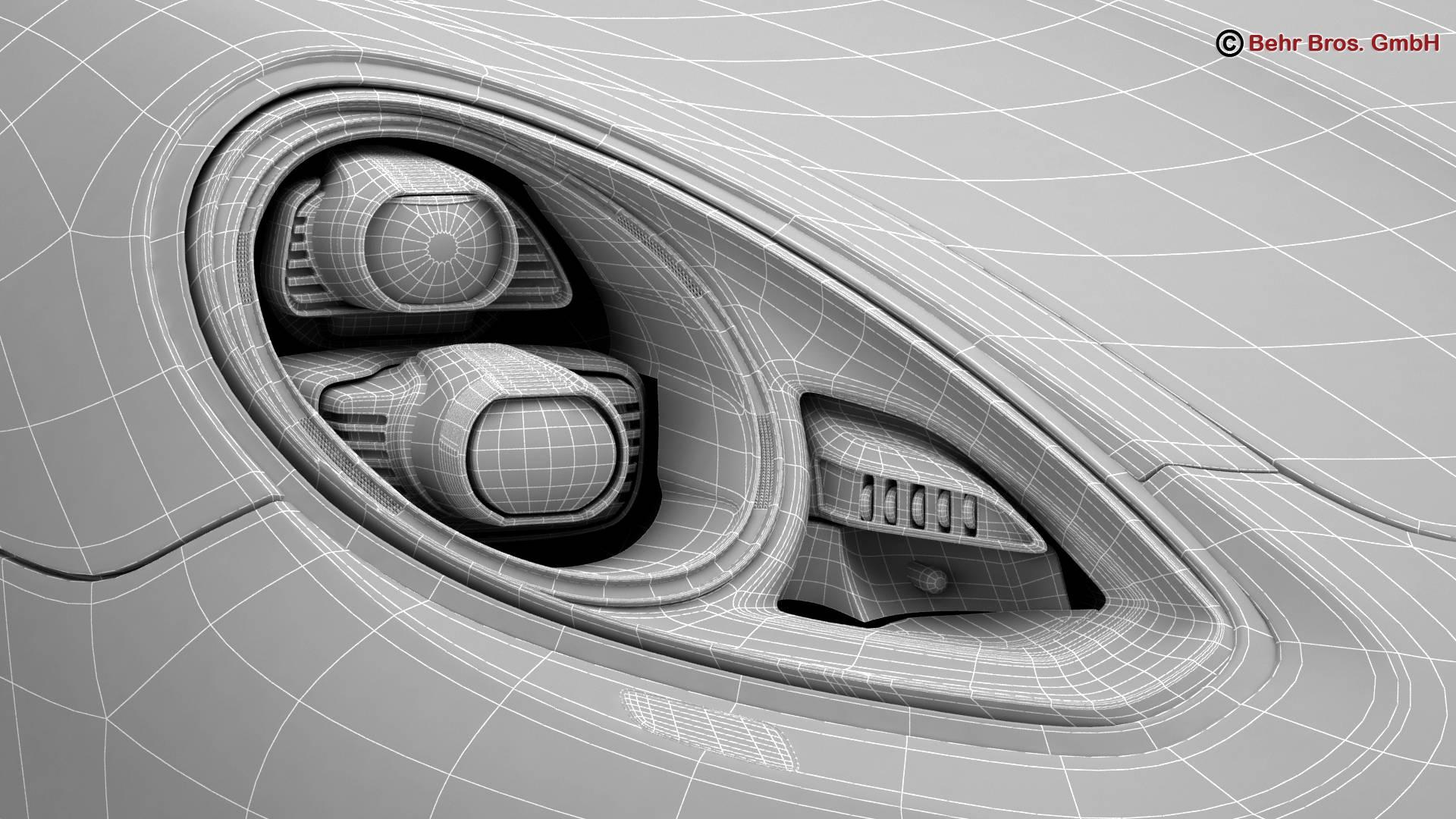 porsche panamera turbo s 2014 3d model 3ds max fbx c4d lwo ma mb obj 215084