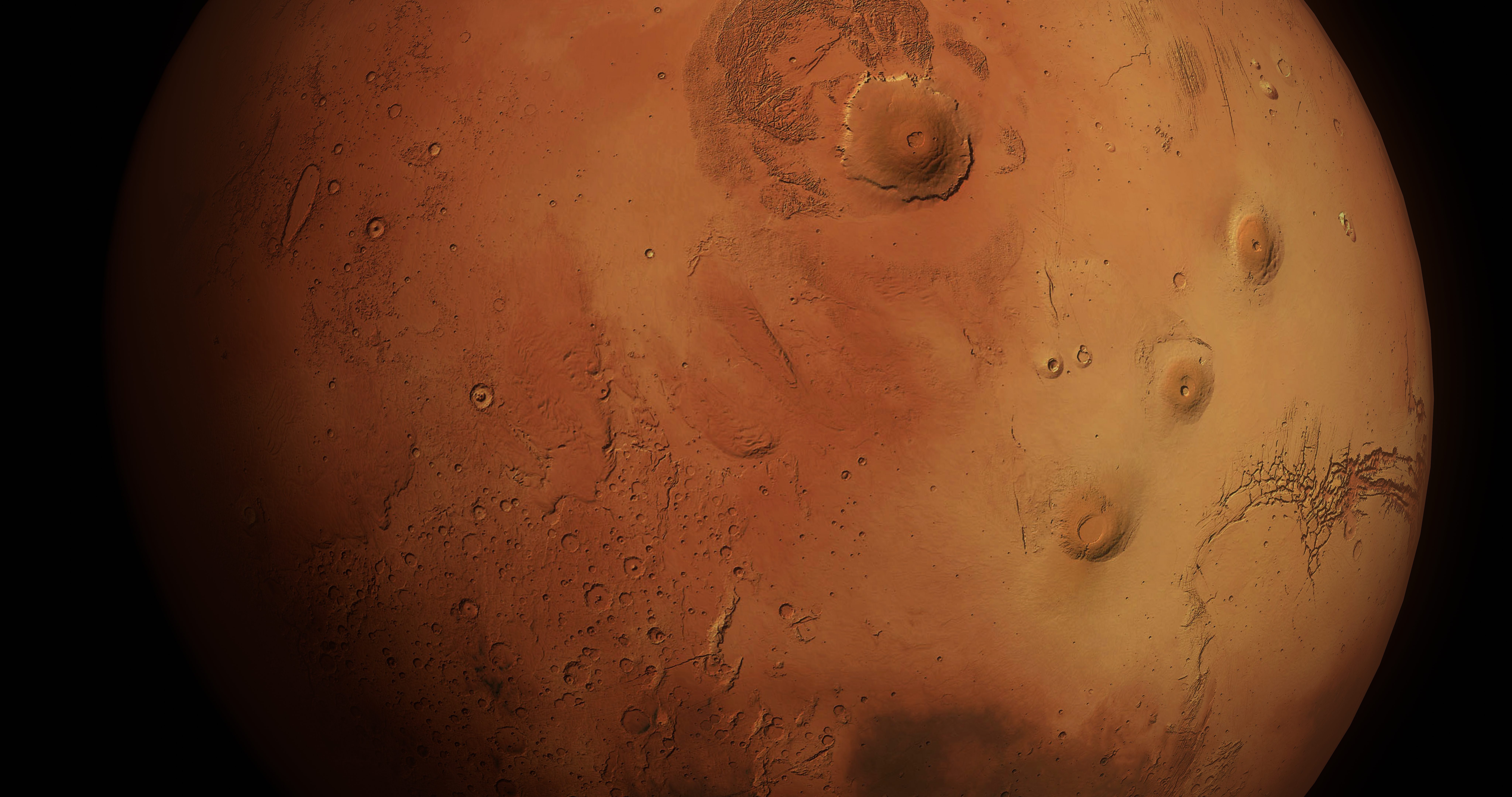 mars 8k 3d model 3ds fbx blend dae obj 215109