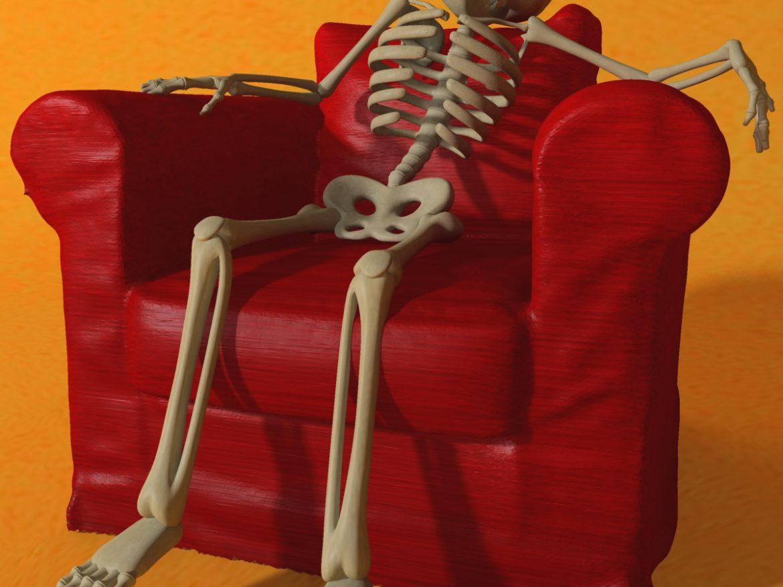 Cartoon Skeleton Rigged ( 861.27KB jpg by supercigale )