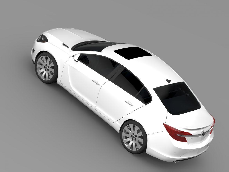 buick regal 2015 3d modeli 3ds max fbx c4d lwo ma mb hrc xsi obj 215140