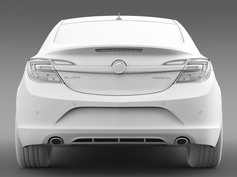 buick regal 2015 3d modeli 3ds max fbx c4d lwo ma mb hrc xsi obj 215141