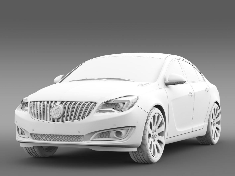 buick regal 2015 3d modeli 3ds max fbx c4d lwo ma mb hrc xsi obj 215142