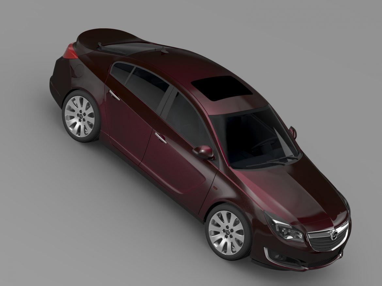 opel insignia hatchback ecoflex 2015 3d model 3ds max fbx c4d lwo ma mb hrc xsi obj 215306