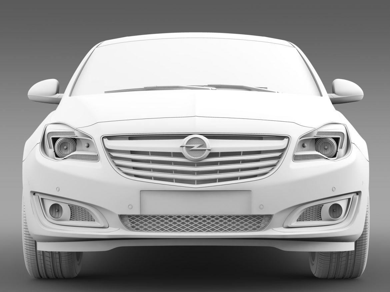 opel insignia hatchback ecoflex 2015 3d model 3ds max fbx c4d lwo ma mb hrc xsi obj 215308