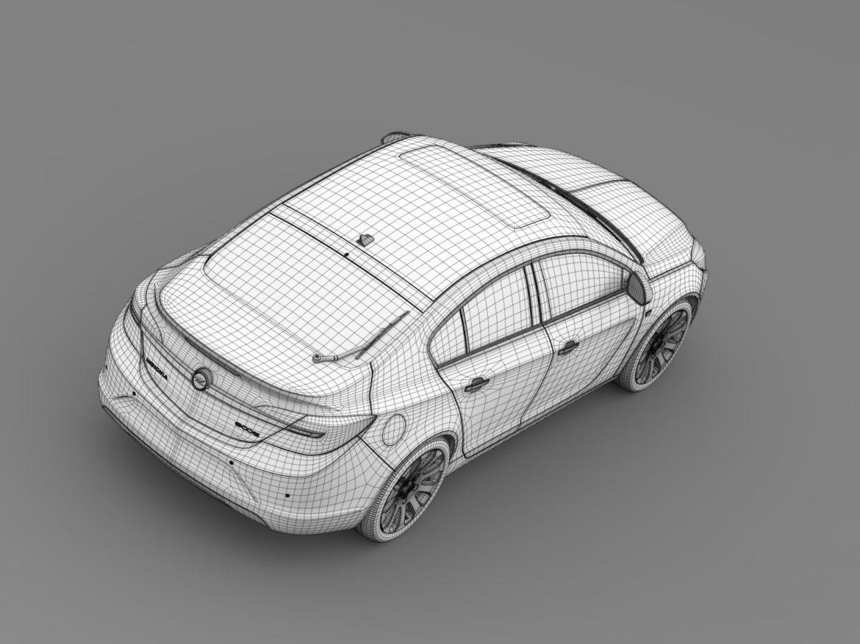 opel insignia hatchback ecoflex 2015 3d model 3ds max fbx c4d lwo ma mb hrc xsi obj 215311