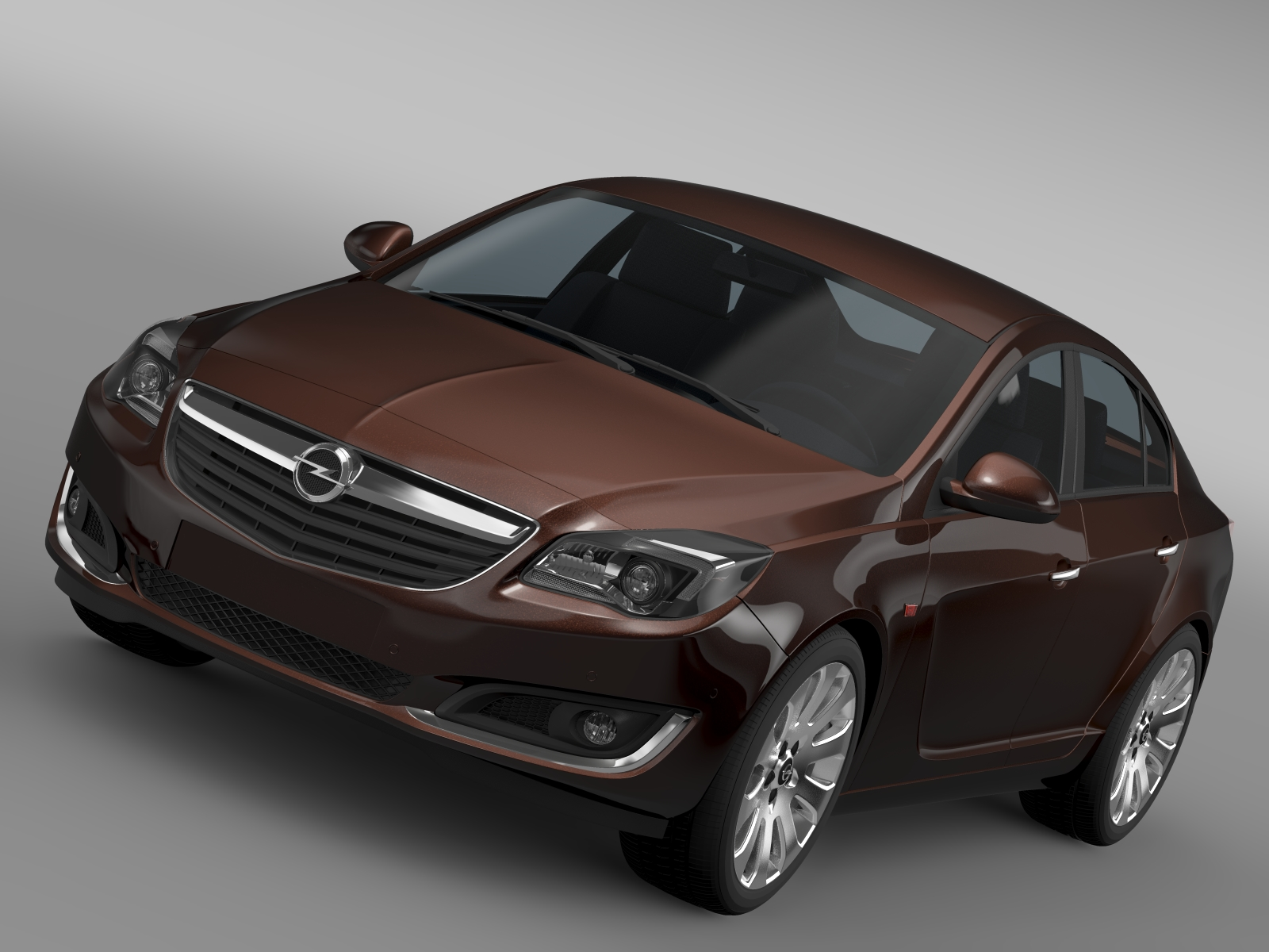 opel insignia turbo 2015 3d model 3ds max fbx c4d lwo ma