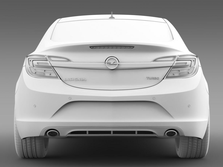 opel insignia turbo 2015 3d model 3ds max fbx c4d lwo ma mb hrc xsi obj 215345