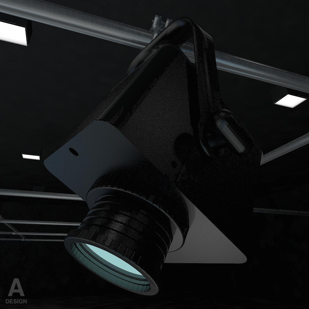 виртуал өргөн нэвтрүүлгийн телевизийн мэдээллийн студи 028 3d загвар max dxf fbx бүтэцтэй obj 215581