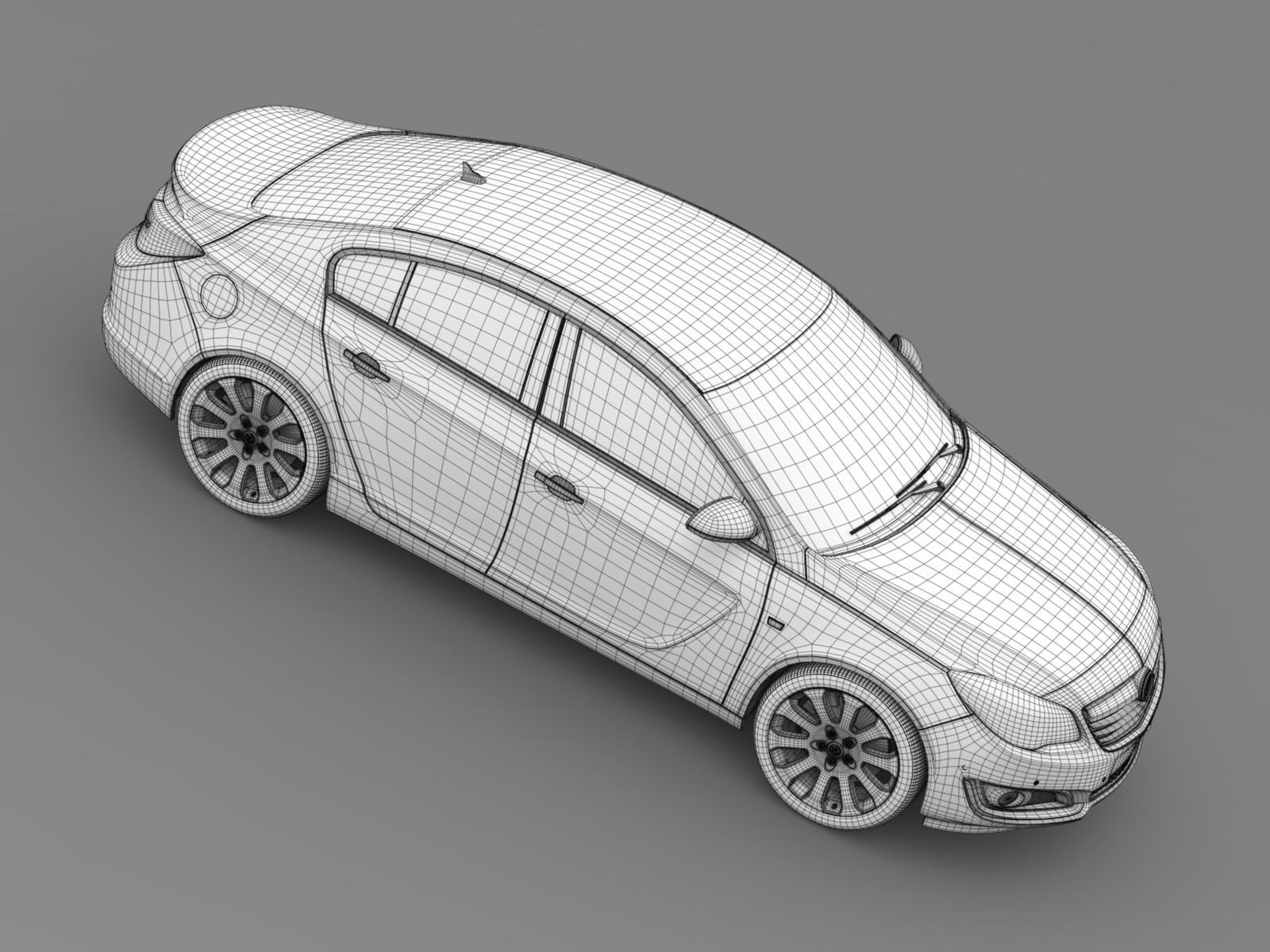 Vauxhall Insignia Turbo 2015 3d Model Vehicles 3d Models ...