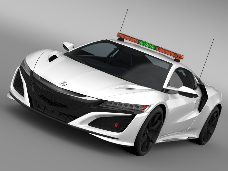 acura nsx safety car 2016 3d model 3ds max fbx c4d lwo ma mb hrc xsi obj 215687